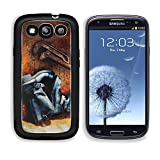 MSD Premium Samsung Galaxy S3 Aluminum Backplate Bumper Snap Case old vintage leather boots and rusty pipe wrench IMAGE 21453682