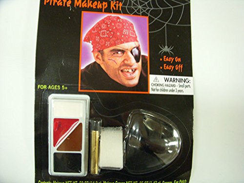 Totally Ghoul Pirate Halloween Face Paint Halloween Kit