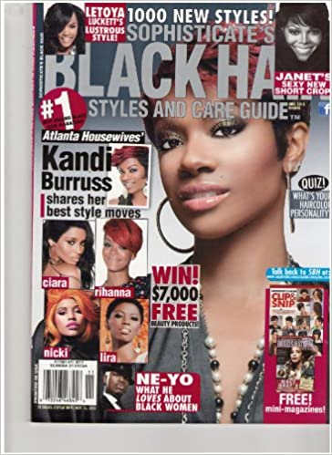 Sophisticate S Black Hair Styles Care Guide Magazine Win 7 000 Free Beauty Products Nov 2010 Amazon Com Books