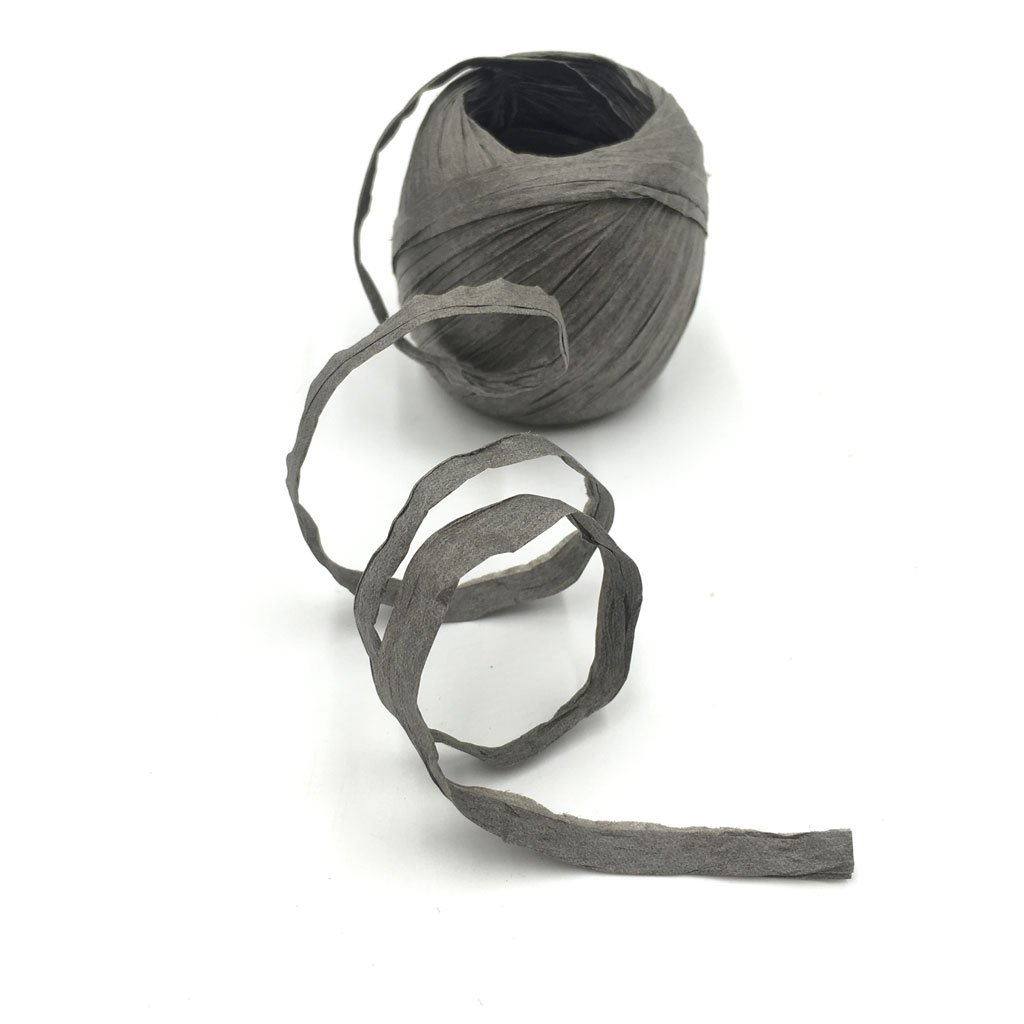 Black 1.18 Inch by 22 Yards,Color Choice Prettyia Raffia Paper Craft Ribbon for DIY Craft Gift Box Packing