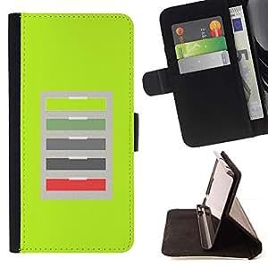 For LG Nexus 5 D820 D821 Case , Oficina Verde Modelo abstracto- la tarjeta de Crédito Slots PU Funda de cuero Monedero caso cubierta de piel
