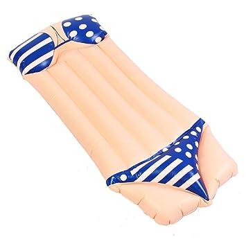 Sucastle Hinchable colchonetas Piscina Flotador Bikini para ...
