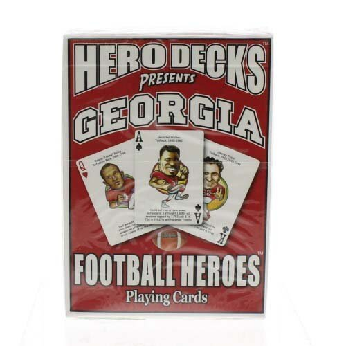 Playing Cards Ncaa - Georgia Heroes Playing Cards