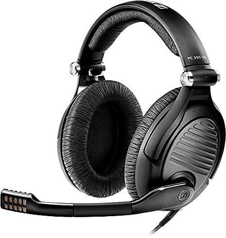 Sennheiser PC 350 Special Edition 2015 Binaurale Diadema Negro auricular con micrófono - Auriculares con micrófono