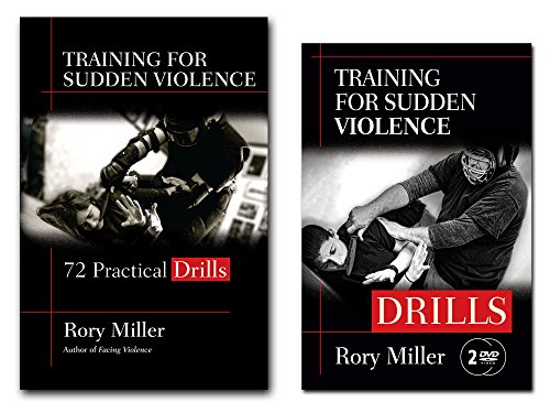 Bundle: Rory Miller's Training for Sudden Violence: DRILLS book and 2-DVD set
