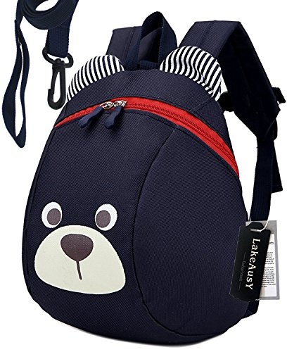 - Children Kids Toddler Backpack Double Harness With Leash for Boys Under 3 Years