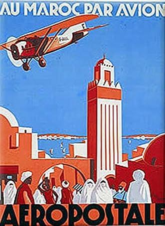 Amazon.com: Cartel de viaje de publicidad francesa ...