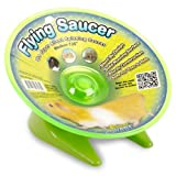 Ware Manufacturing Flying Saucer Exercise Wheel for Small Pets, 7 1/4-Inch - Colors may vary
