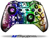Rainbow Graffiti - Decal Style Skin fits Original Microsoft XBOX One Wireless Controller (CONTROLLER NOT INCLUDED)