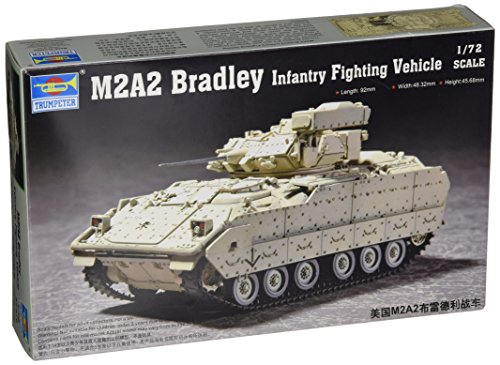 Trumpeter 1/72 M2A2 Bradley Infantry Fighting Vehicle for sale  Delivered anywhere in USA