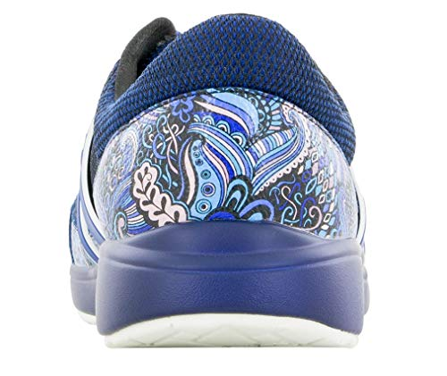 TraQ by Alegria Womens Qarma Walking Shoe Wild Child Blues