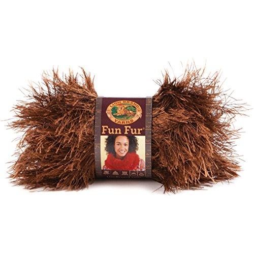 Lion Brand Yarn 320 126 Chocolate