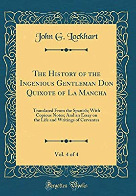 Topics For Proposal Essays The History Of The Ingenious Gentleman Don Quixote Of La Mancha Vol  Of   Translated From The Spanish With Copious Notes And An Essay On The  Life And  Persuasive Essay Examples For High School also Descriptive Essay Thesis Buy The History Of The Ingenious Gentleman Don Quixote Of La Mancha  Example Essay Thesis Statement