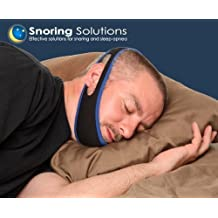 Snoring Solution - Best Snoring Aid - Premium Comfort - Stop Snoring Jaw Strap - Most Recommended by Doctors - Top Rated 2017 Snoring Solution! (OPEN MOUTH SNORERS ONLY)