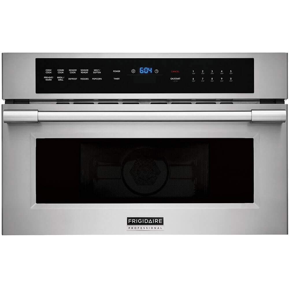Frigidaire Professional 30'' Built-In Convection Microwave Oven with Drop-Down Door FPMO3077TF