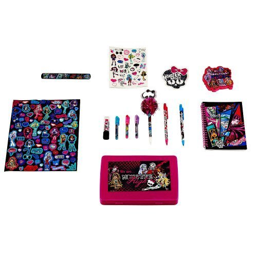 [Monster High Ghoulicious Stationary Set] (Costumes For Kids Monster High)