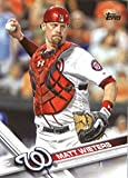 2017 Topps Series 2 #694 Matt Wieters Washington Nationals Baseball Card