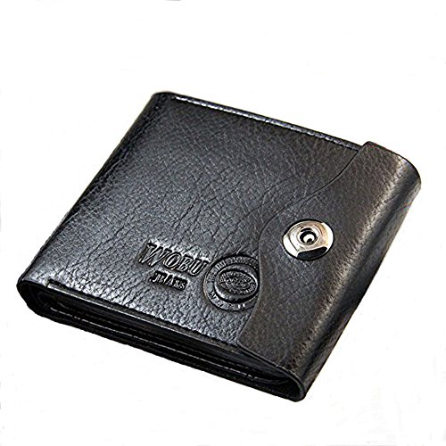 Att Snap - Wobu Trifold Wallet Black or Brown (Black)