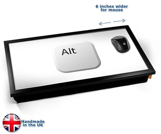 Key Alt White Laptop Tray Cojín Bandeja para Portátil Cojín ...
