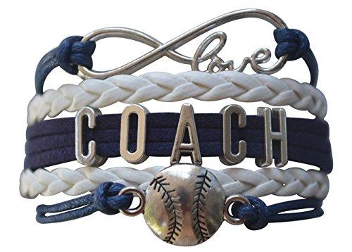 Softball Coach Bracelet- Softball Coach Jewelry - Perfect Gift for Softball Coaches (Softball Gifts Coach)