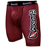 Hayabusa Haburi Compression Shorts, Red, 36-Inch/X-Large