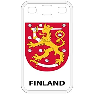 Finland - Country Coat Of Arms Flag Emblem White Galaxy S3 i9300 Cell Phone Case - Cover