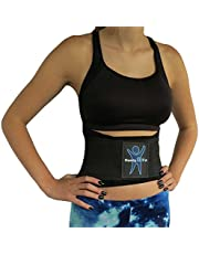"""ComfyMed® Breathable Mesh Back Brace CM-SB01 (REG 26"""" to 37"""") Lower Back Pain Relief Lumbar Support Belt for Treatment of Sciatica, Scoliosis, Herniated Disc or Degenerative Disc Disease"""