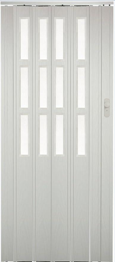 Faltt/ür Schiebet/ür T/ür mahagoni farben H/öhe 202 cm Einbaubreite bis 71 cm Doppelwandprofil Neu