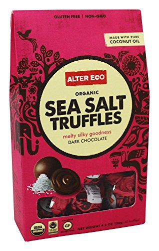 Alter Eco – Sea Salt Truffle – NET WT. 4.2 oz