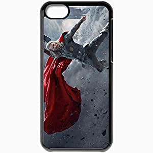 Personalized iPhone 5C Cell phone Case/Cover Skin 2013 Thor 2 The Dark World Black