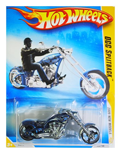 HOT WHEELS 2009 NEW MODELS BLUE OCC SPLITBACK CYCLE for sale  Delivered anywhere in USA