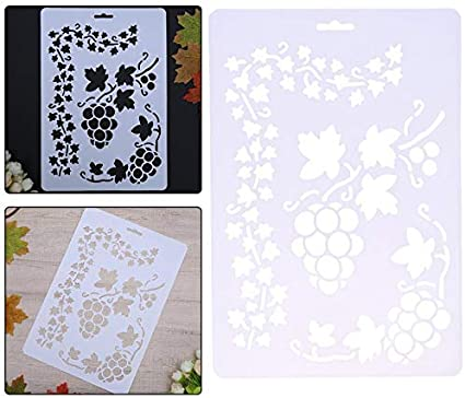 US Layering Stencils Templates for Scrapbooking Drawing Home Decor Card DIY Gift
