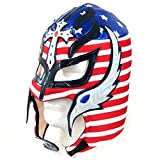 Leos Imports Rey Mysterio Adult Lucha Libre Wrestling Mask (Pro-fit) Costume Wear - USA