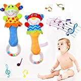 CHAFIN Baby Soft Rattles Sound Toys, Infant