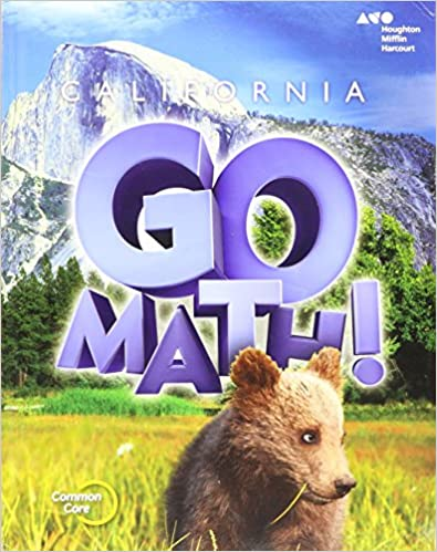 Math Worksheets houghton mifflin math worksheets grade 5 : Houghton Mifflin Harcourt Go Math! California: Student Edition ...