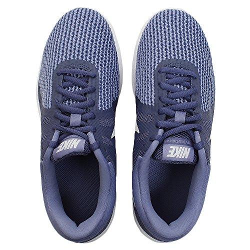 Nike Womens Revolution 4 Scarpa Da Corsa Blu Richiamo / Platino Puro / Ardesia Viola
