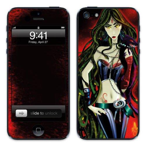 Diabloskinz B0081-0003-0003 Vinyl Skin für Apple iPhone 5/5S Medusa