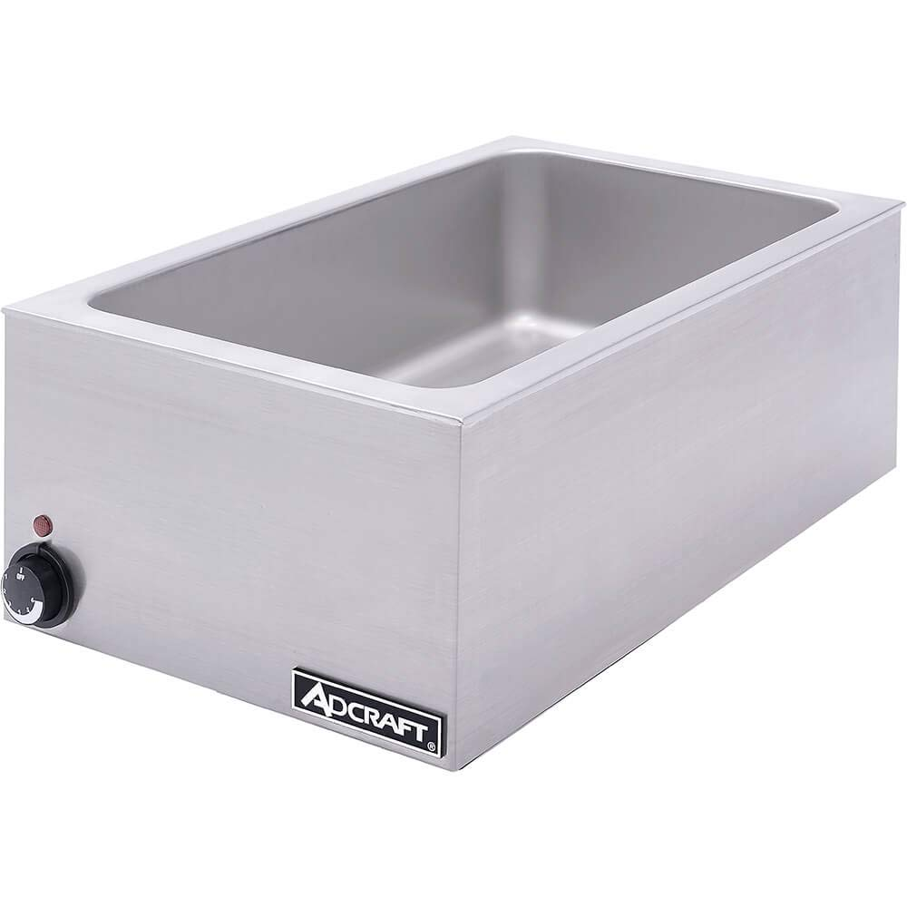 Commercial Kitchen Portable Steam Table Food Warmer Soup Station Set for Catering and Restaurants Stainless Steel
