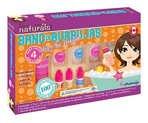 Kiss Naturals Kit para Preparar Baño de Burbujas Ganador de Reconocimientos, Diversión Garantizada!