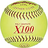 MacGregor ASA Fast Pitch Softball, 11-inch (One Dozen)