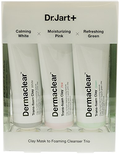 DR. JART Dermaclear Trans-Foam Clay Trio