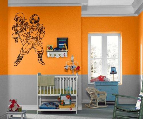 Dragon Ball Z Anime Manga Cartoon Kids Decor Wall Mural Vinyl Art Sticker M412