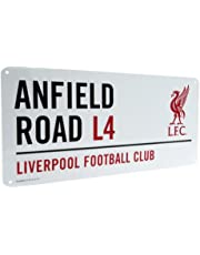 LFC Gift Ideas - Official Liverpool Fc Metal Street Sign - A Great Present for Football Fans