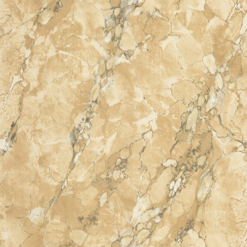 Decorate By Color BC1580033 Tan Marble Faux Finish Wallpaper