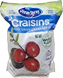 Ocean Spray Craisins Whole & Juicy Dried Cranberries Non-GMO 64 Oz.
