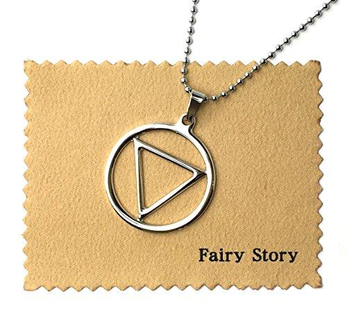 【Fairy Story】 NARUTO -ナルト- 疾風伝 飛段 ジャシン教 モチーフ コスプレ ネックレス【クロス&箱あり】