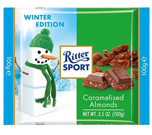 Ritter Sport Winter Collection Burned Almond 100g (12-pack)