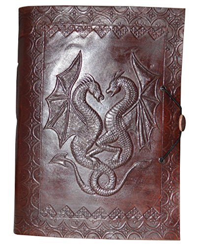Zap Impex Leather Diary Blank Journal (7