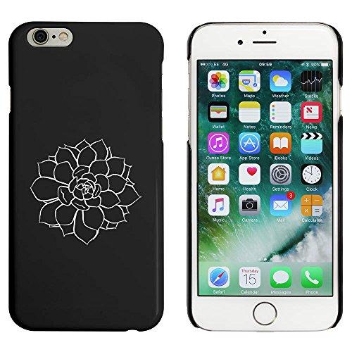 Schwarz 'Sukkulenten Pflanze' Hülle für iPhone 6 u. 6s (MC00040301)