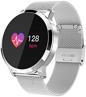 Smartwatch, Reloj Inteligente Bluetooth Smart Watch Hombres Mujeres Niños IP67 Impermeable Deportes Fitness Tracker,Pulsómetro,Recordatorio de ...